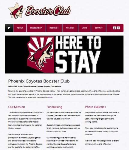 Phoenix Coyotes Booster Club