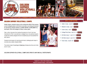 Golden Gophers Basketball Camp
